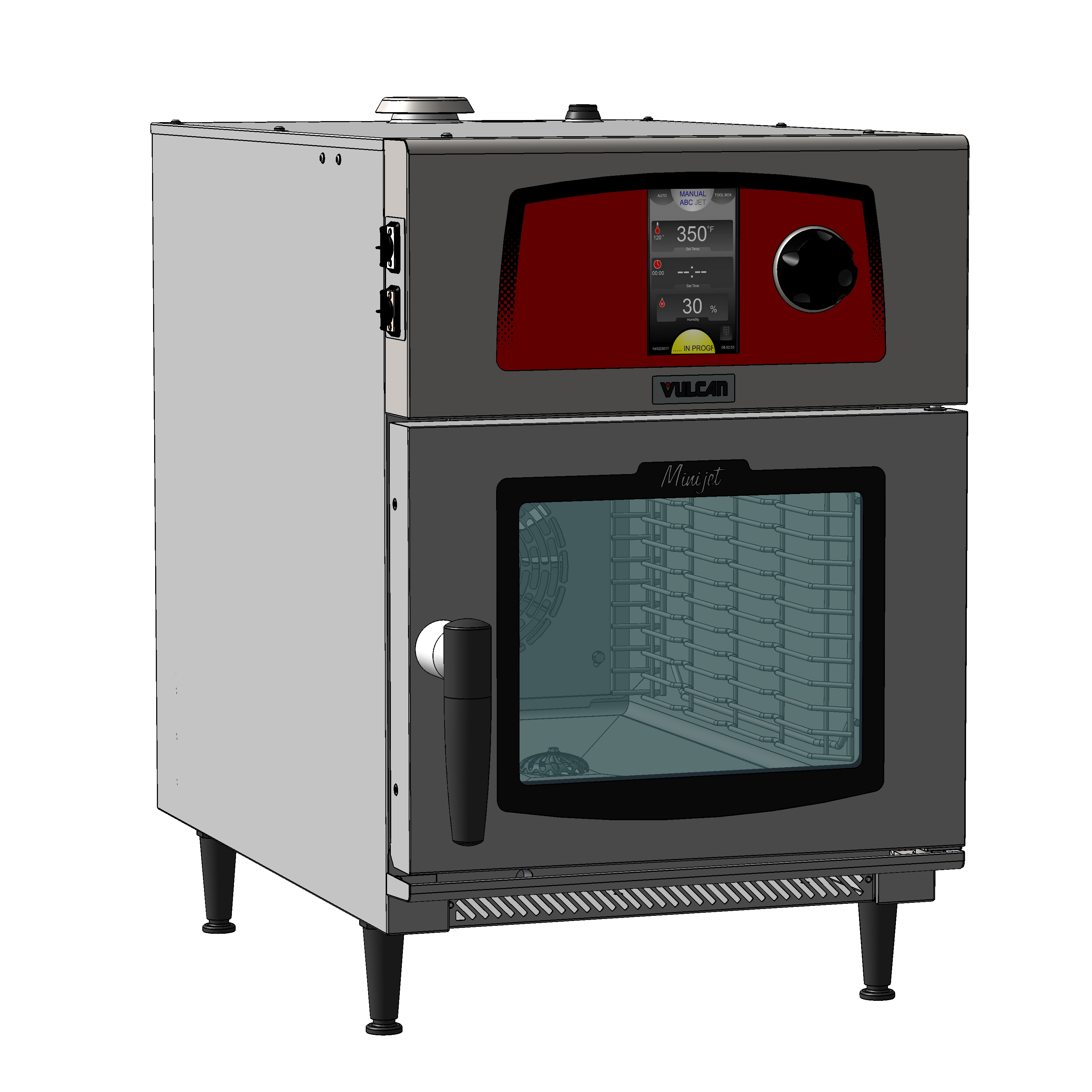 Vulcan MINI-JETR combi oven, electric