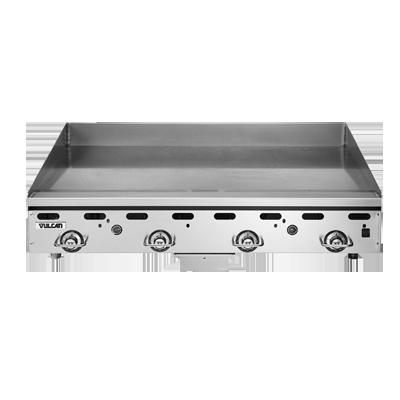 Vulcan MSA48-C0100P griddle, gas, countertop
