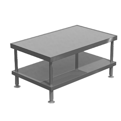 Vulcan STAND/F-VCCB48 equipment stand, for countertop cooking