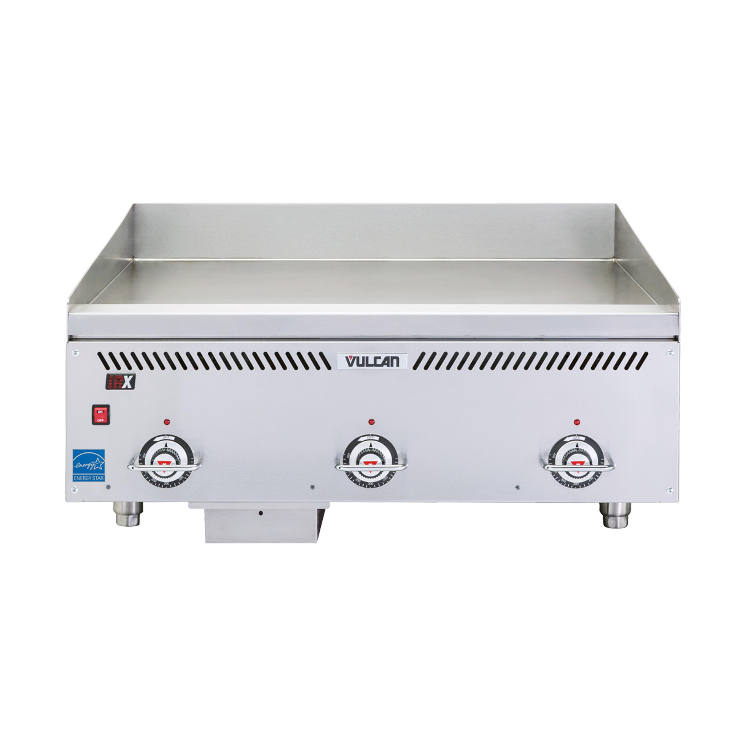 Vulcan VCCG60-IR griddle, gas, countertop