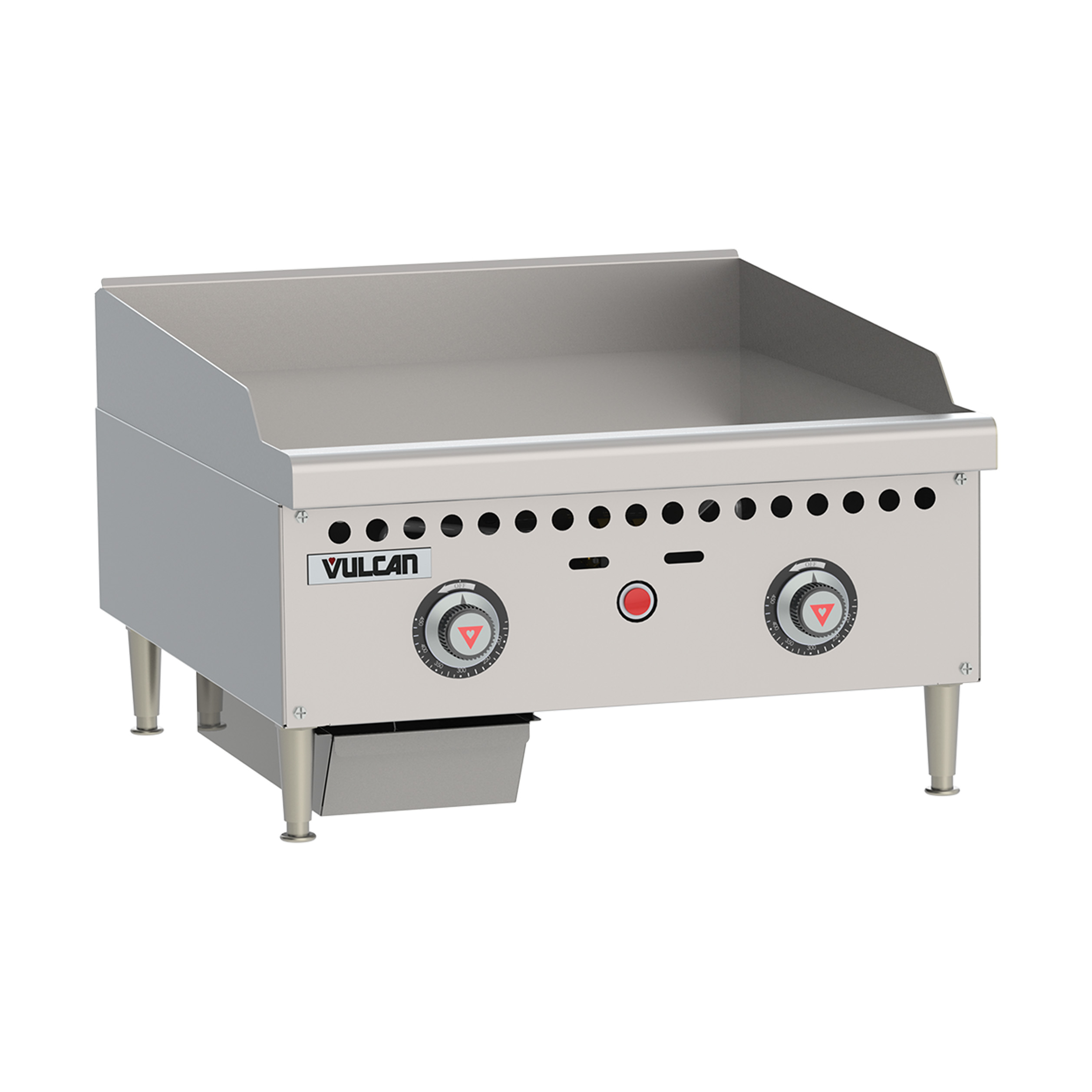 Vulcan VCRG24-T griddle, gas, countertop