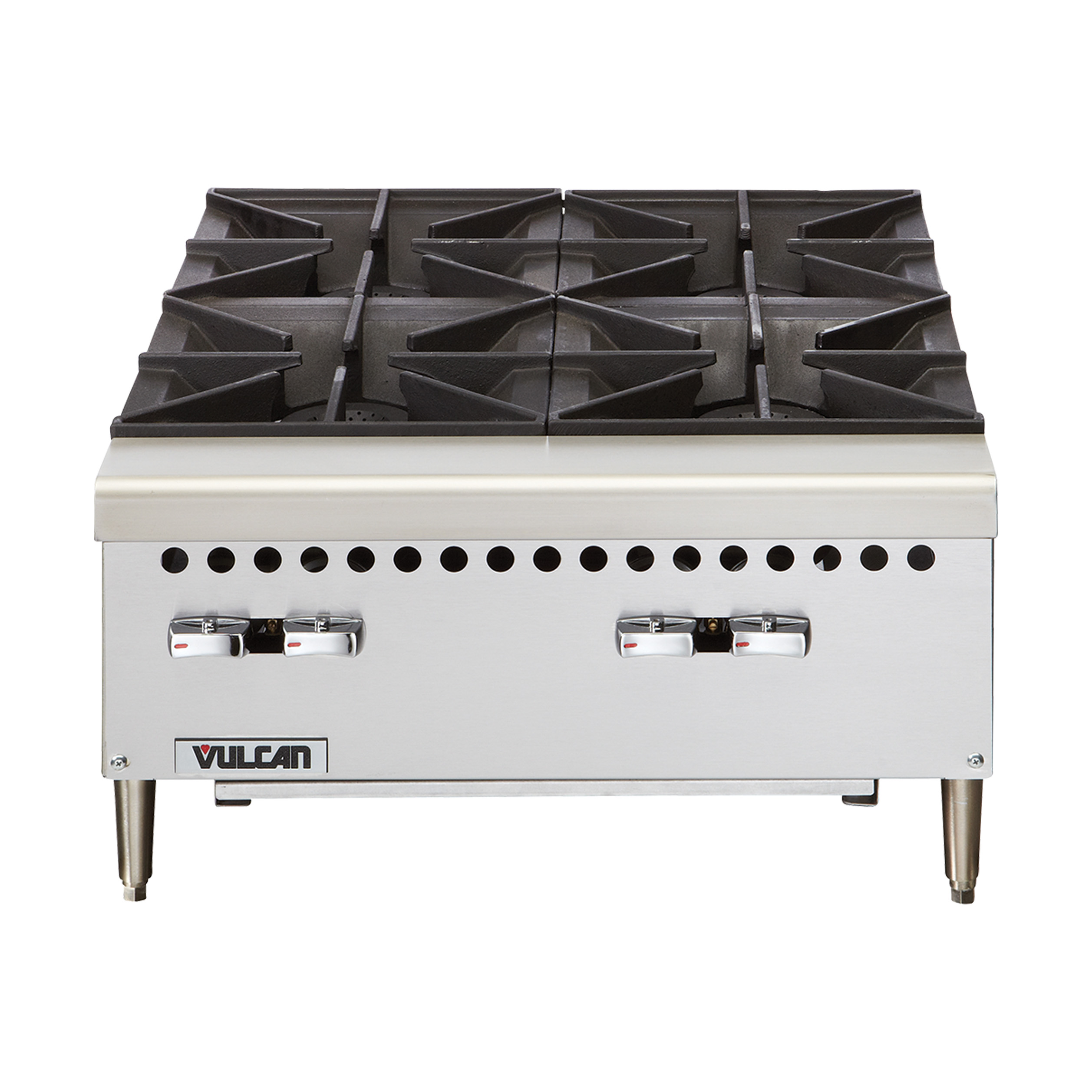 Vulcan VCRH36 hotplate, countertop, gas