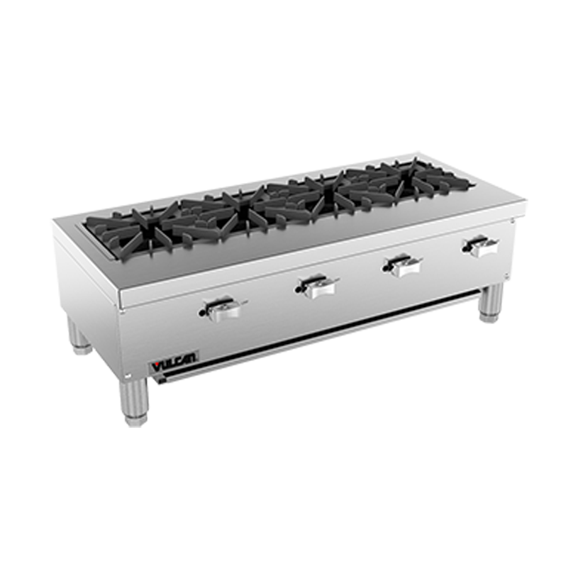 Vulcan VCRR36 hotplate, countertop, gas