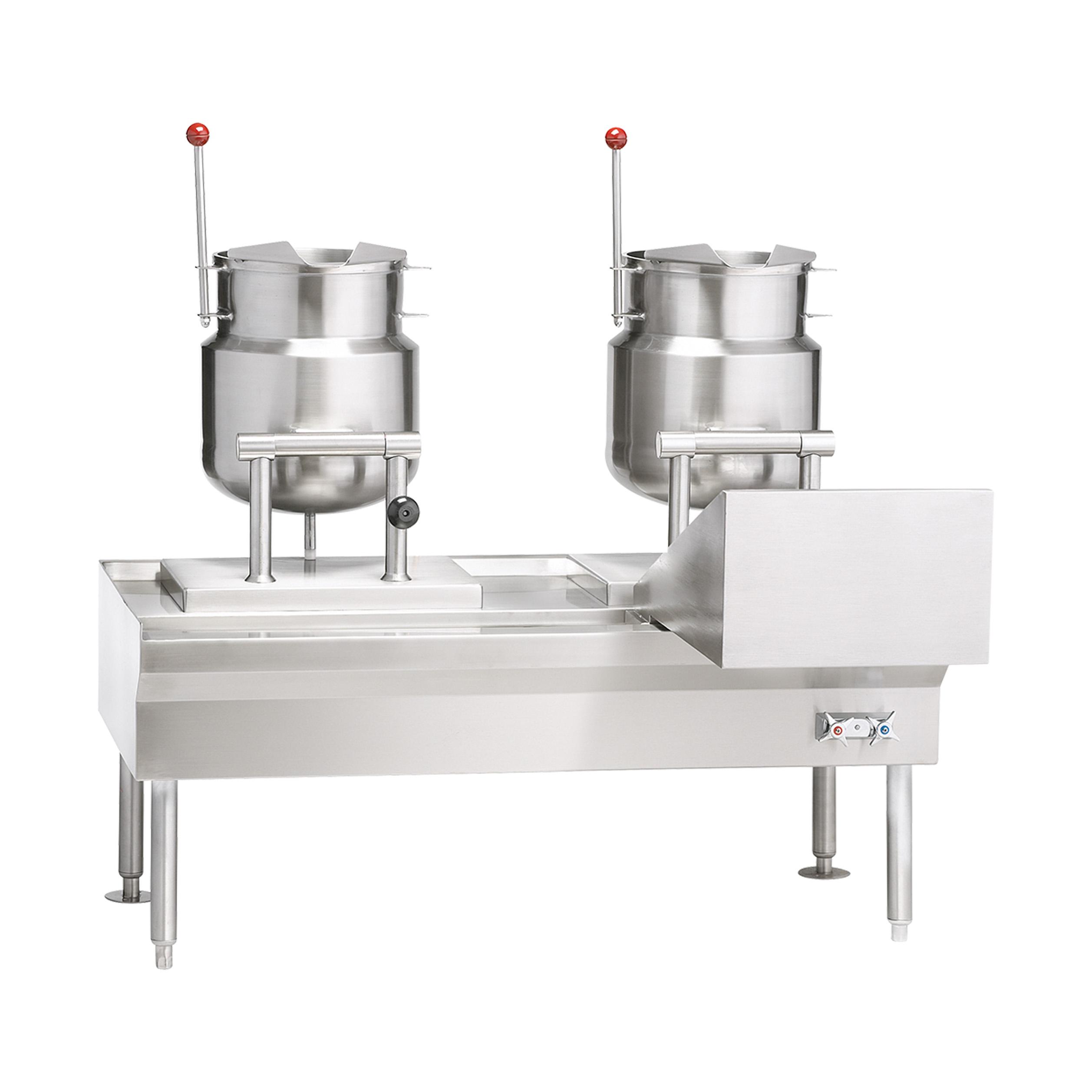 Vulcan VEKT26/6 kettle cabinet assembly, electric