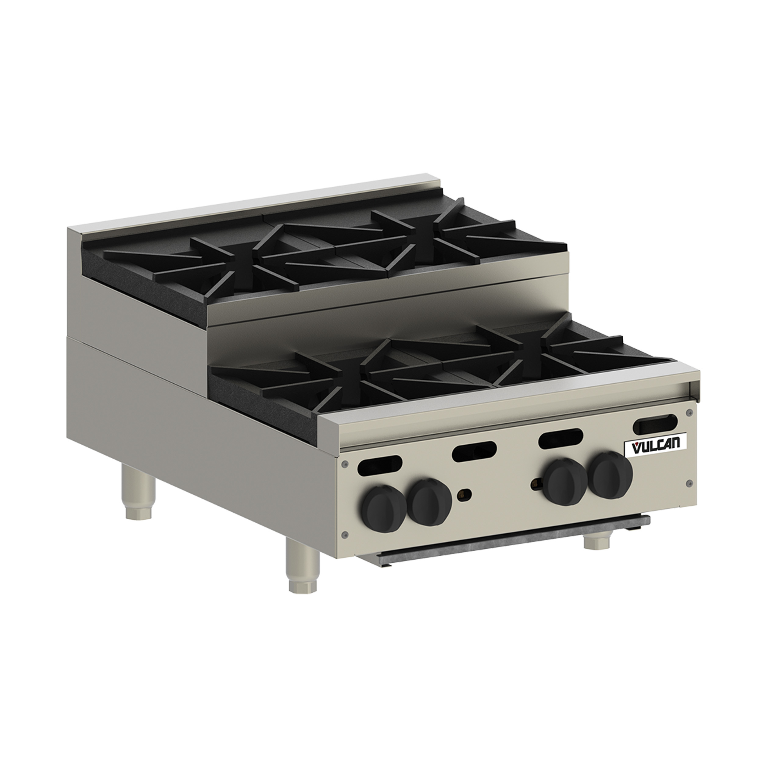 Vulcan VHP636U hotplate, countertop, gas