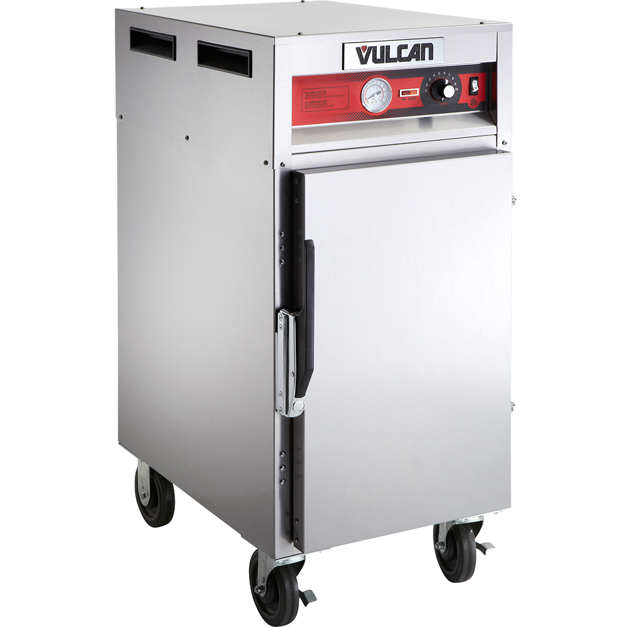 Vulcan VHP7 heated cabinet, mobile