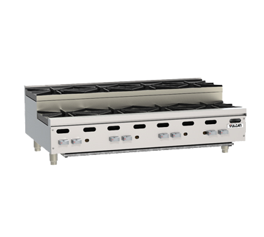 Vulcan VHP848U hotplate, countertop, gas