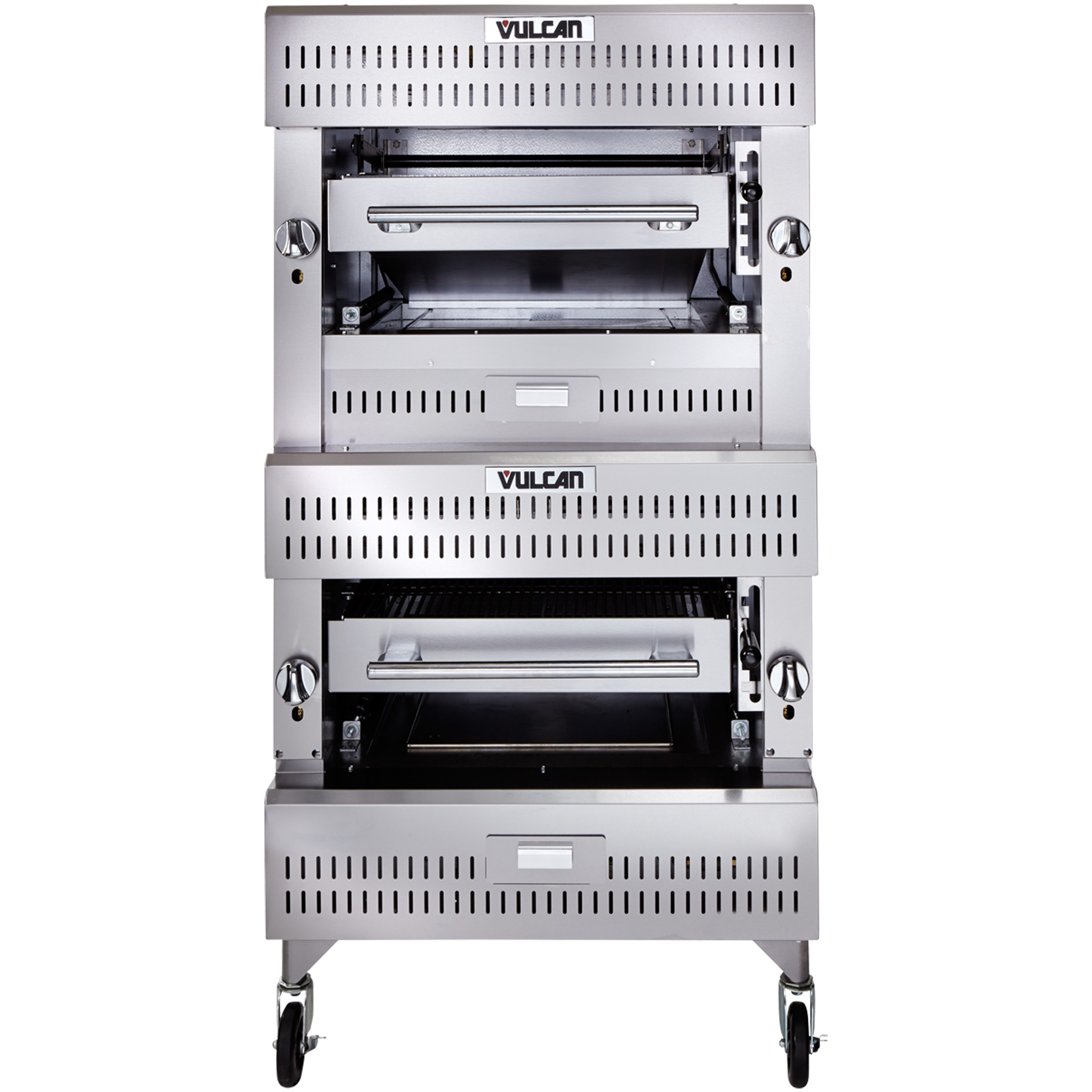 Vulcan VIB2 broiler, deck-type, gas