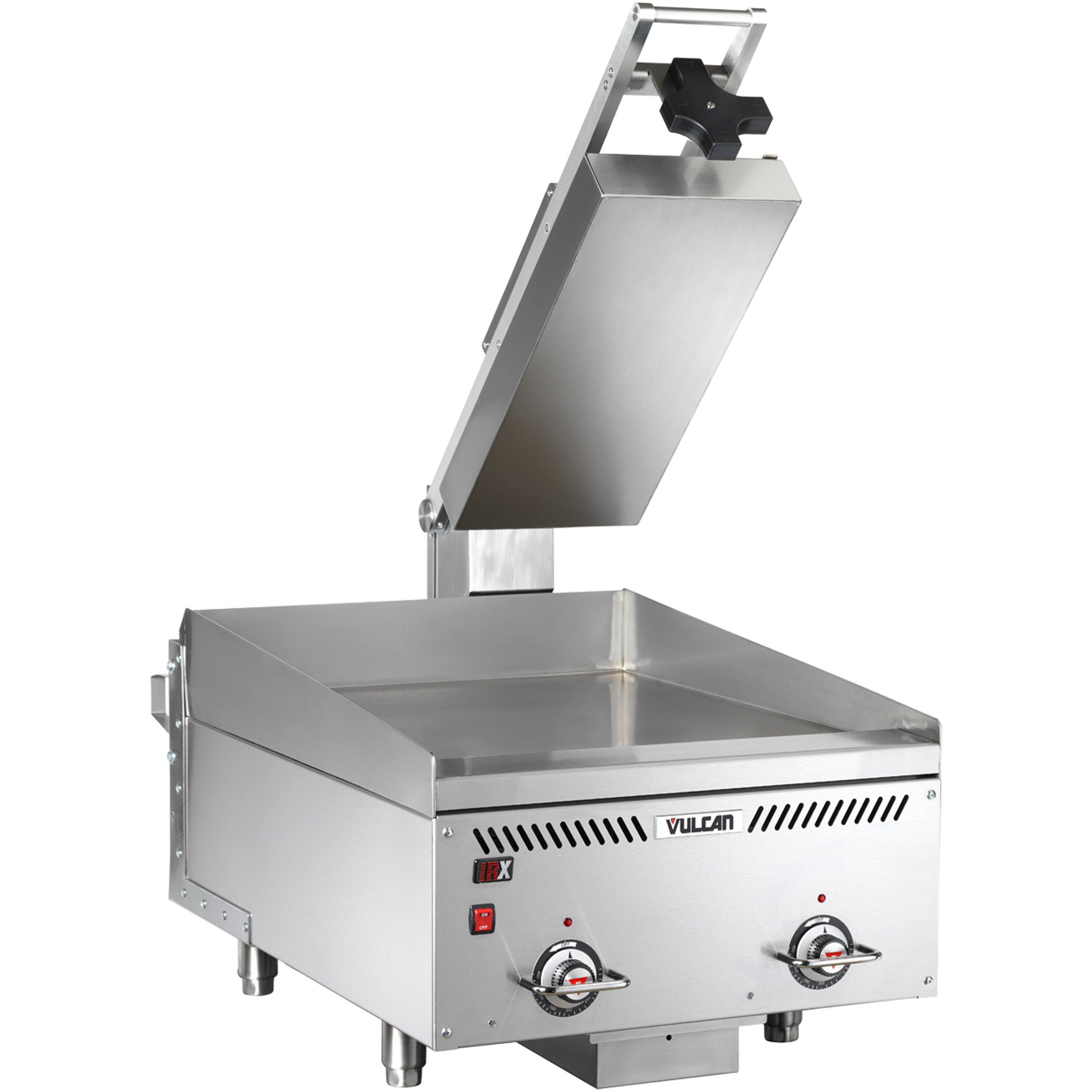 Vulcan VMCS-102 griddle with platens, electric