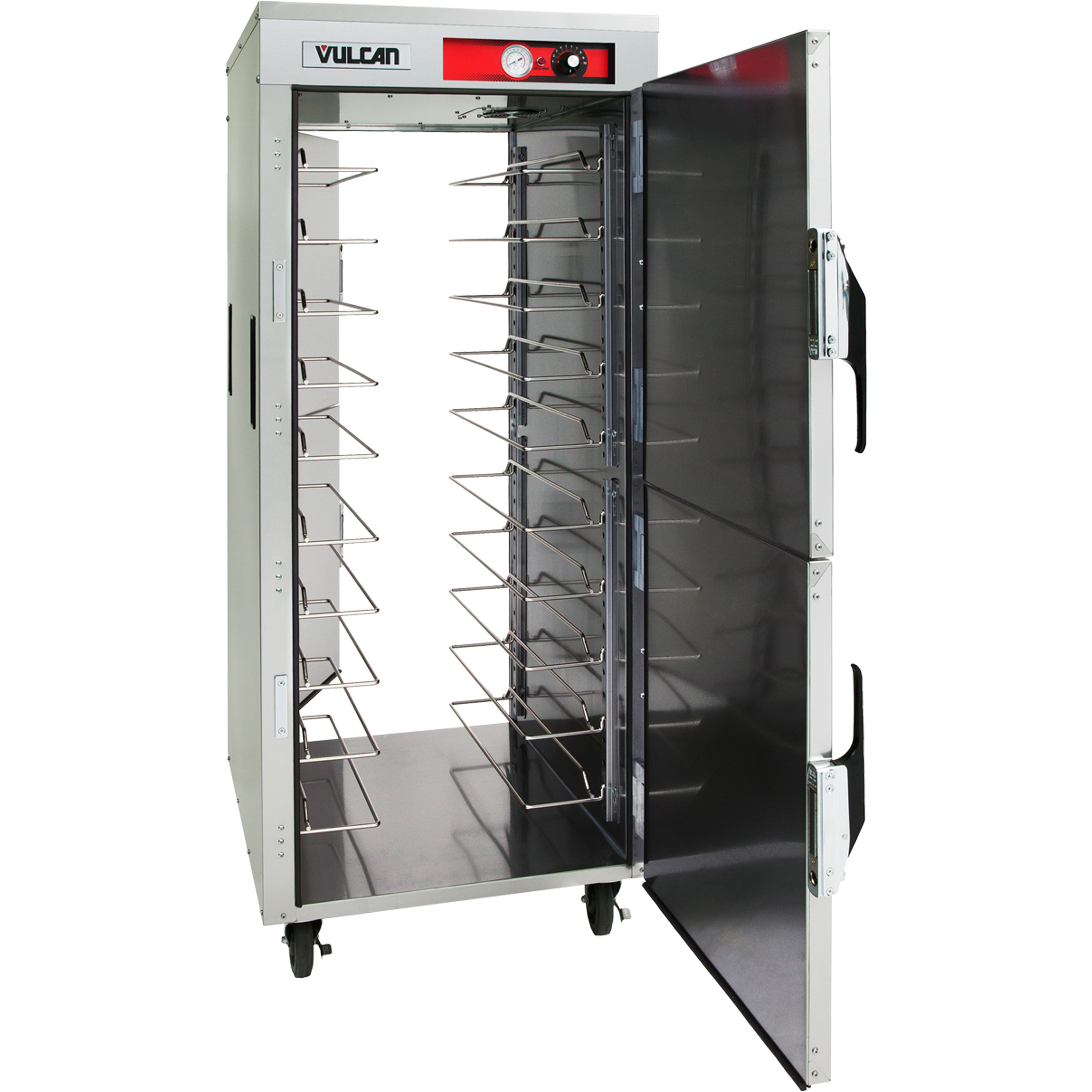 Vulcan VPT18 heated cabinet, mobile, pass-thru