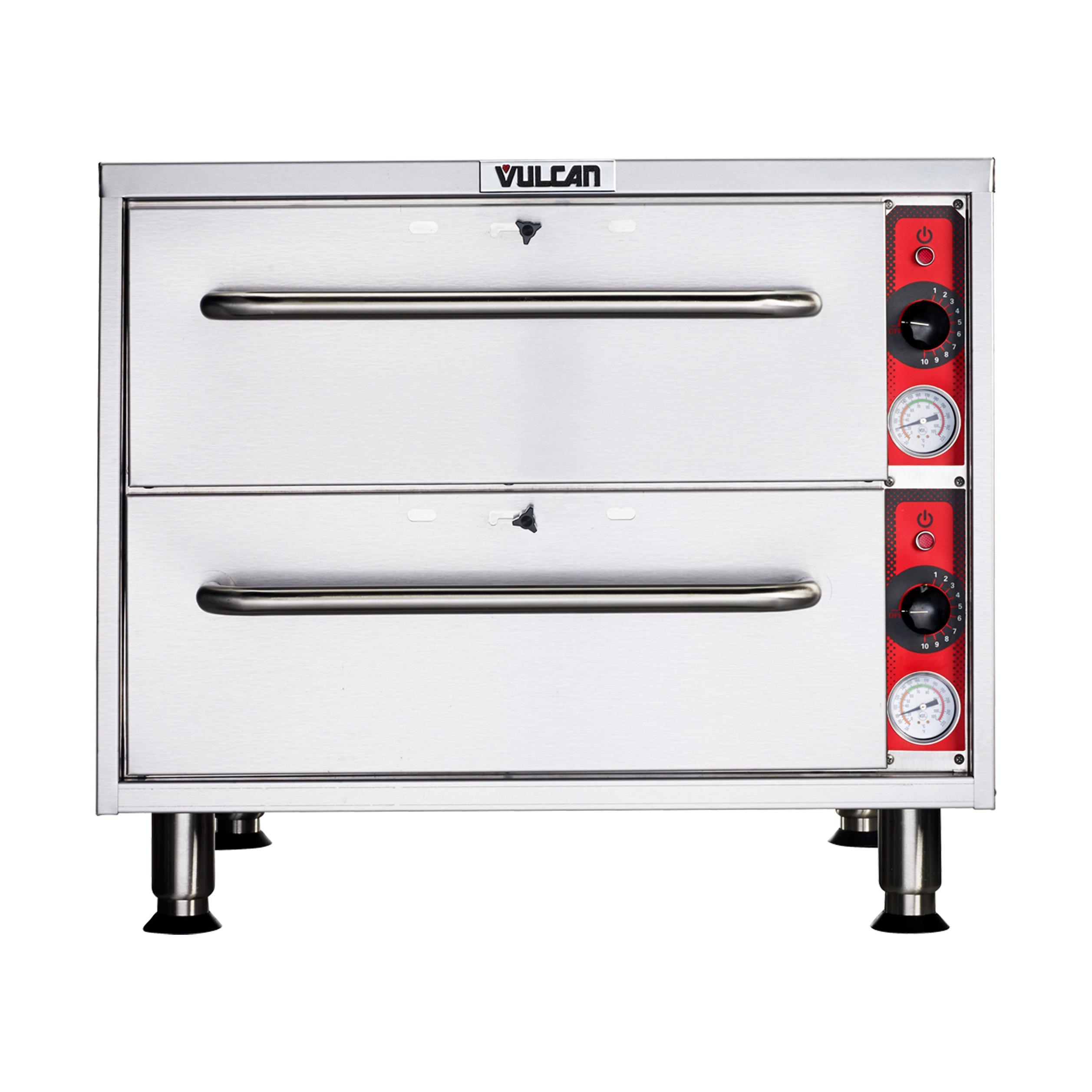Vulcan VSL2 warming drawer, free standing
