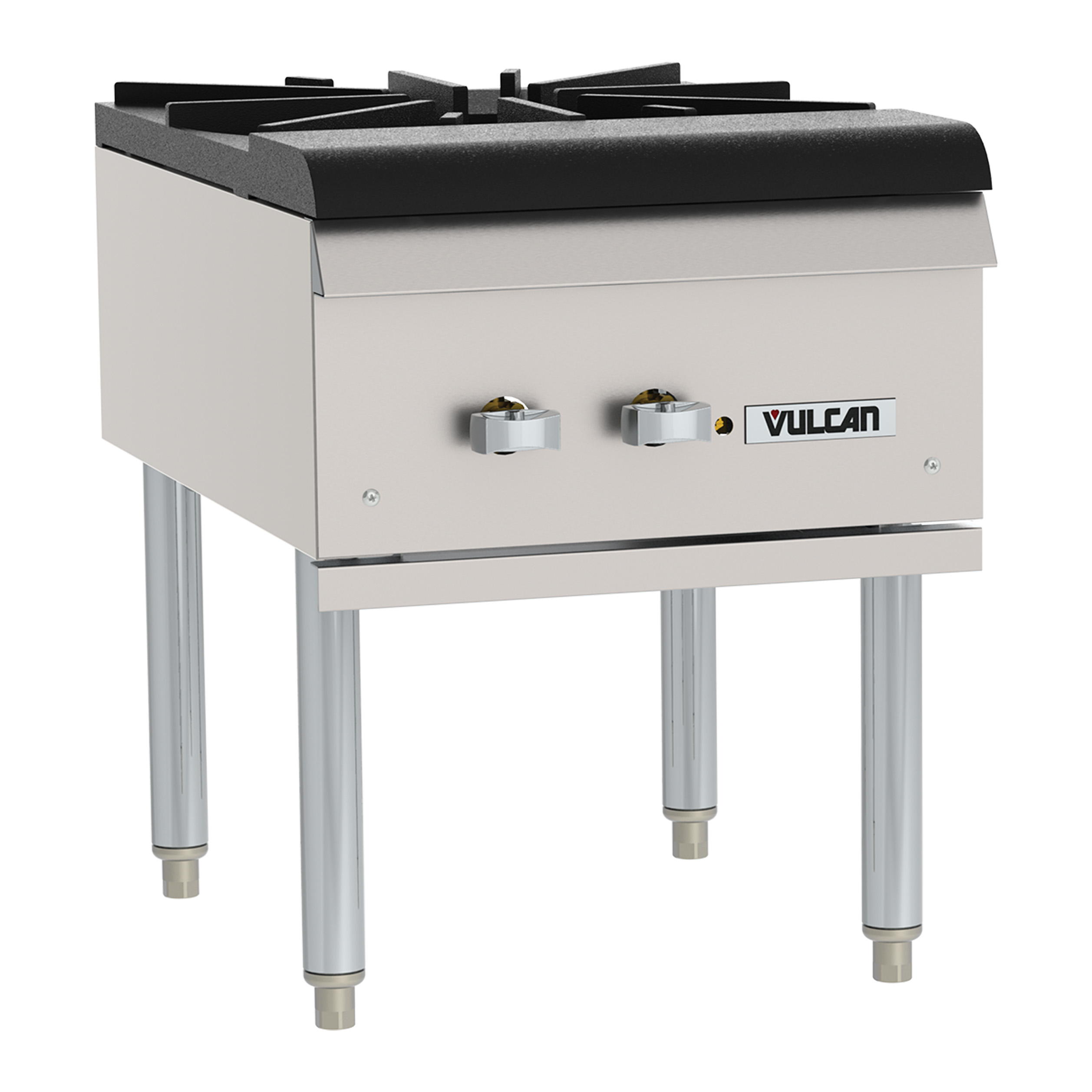 Vulcan VSP100 range, stock pot, gas