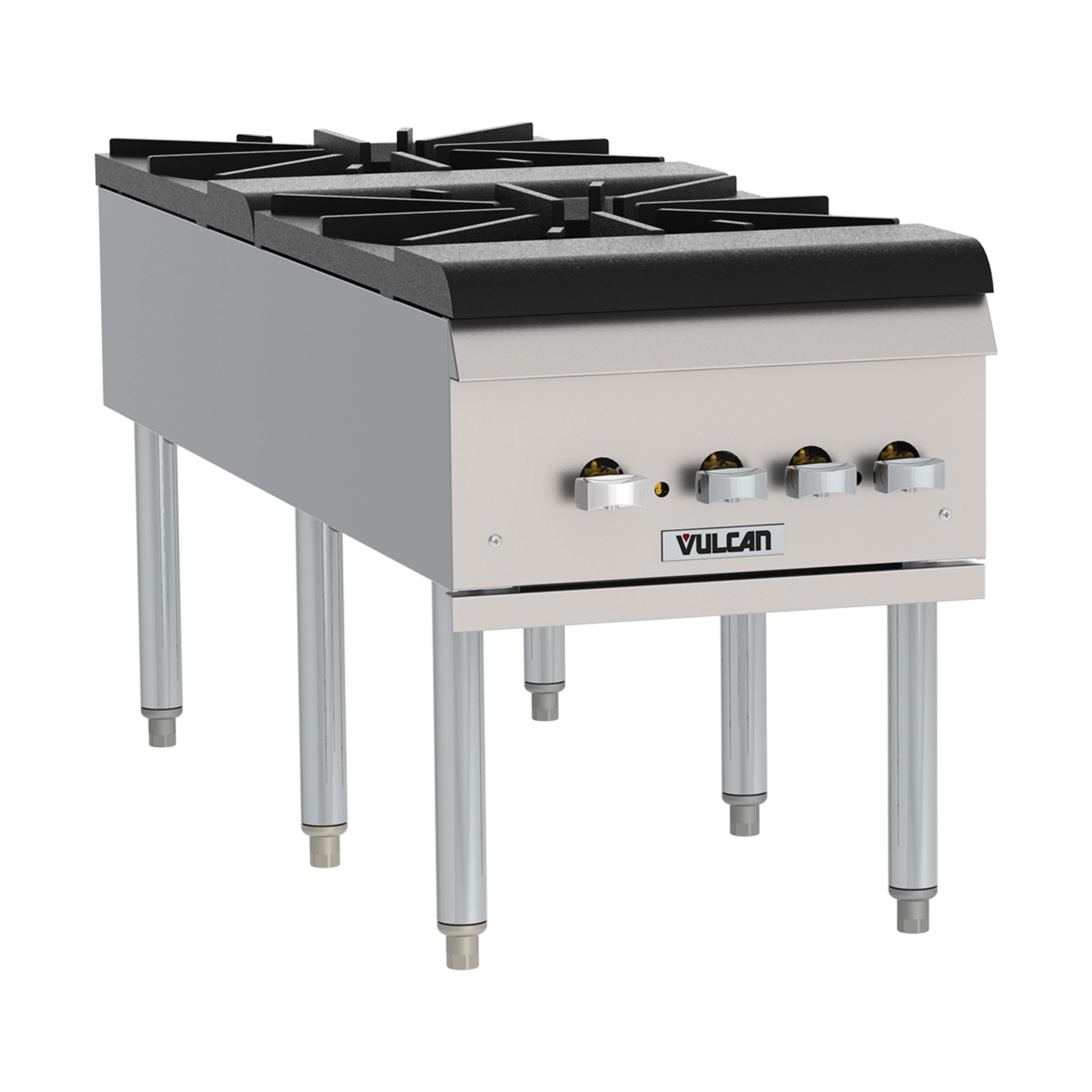 Vulcan VSP200F range, stock pot, gas
