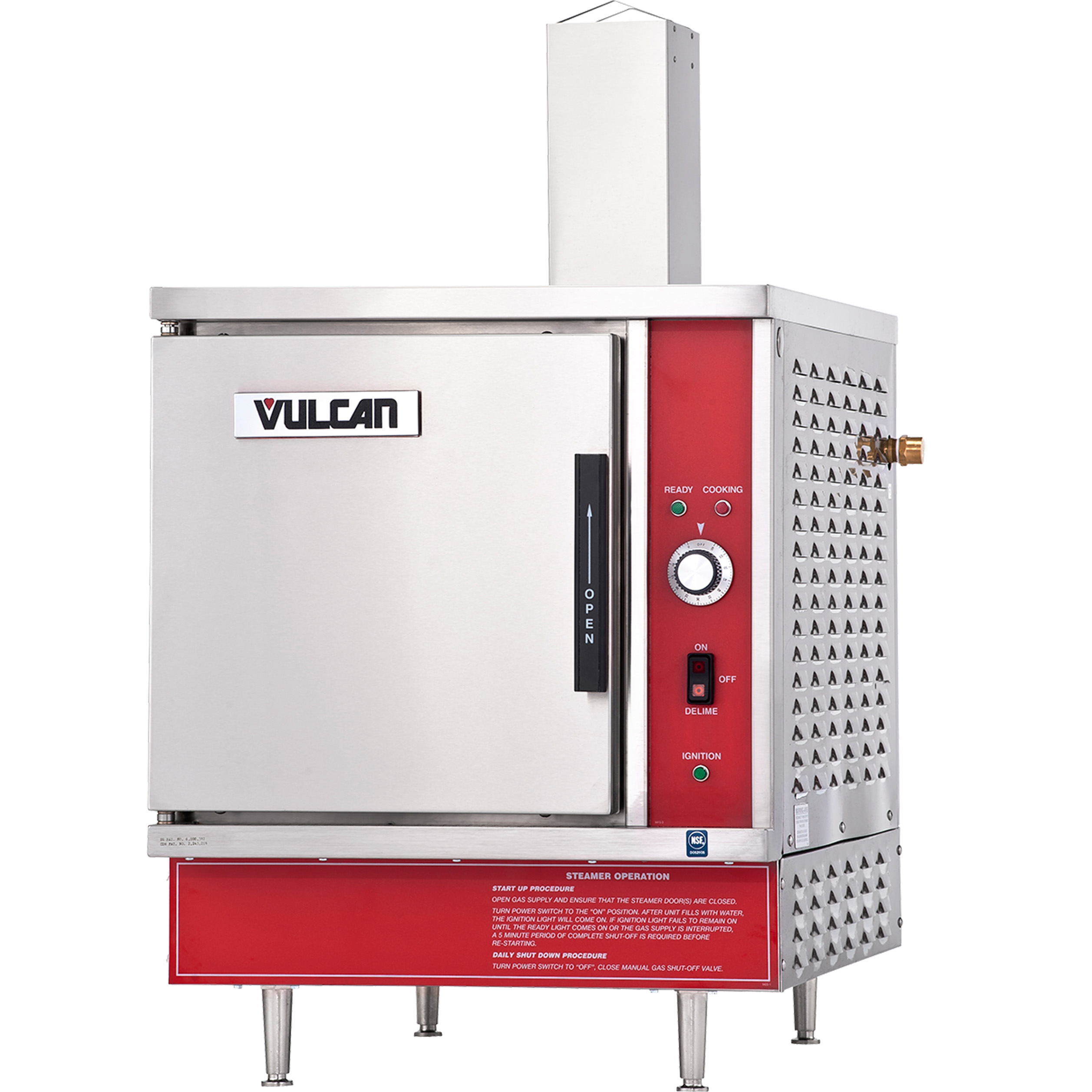 Vulcan VSX5G steamer, convection, countertop