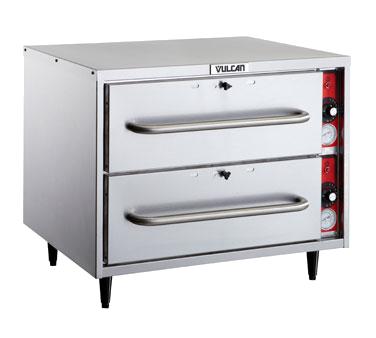 Vulcan VW2S warming drawer, free standing