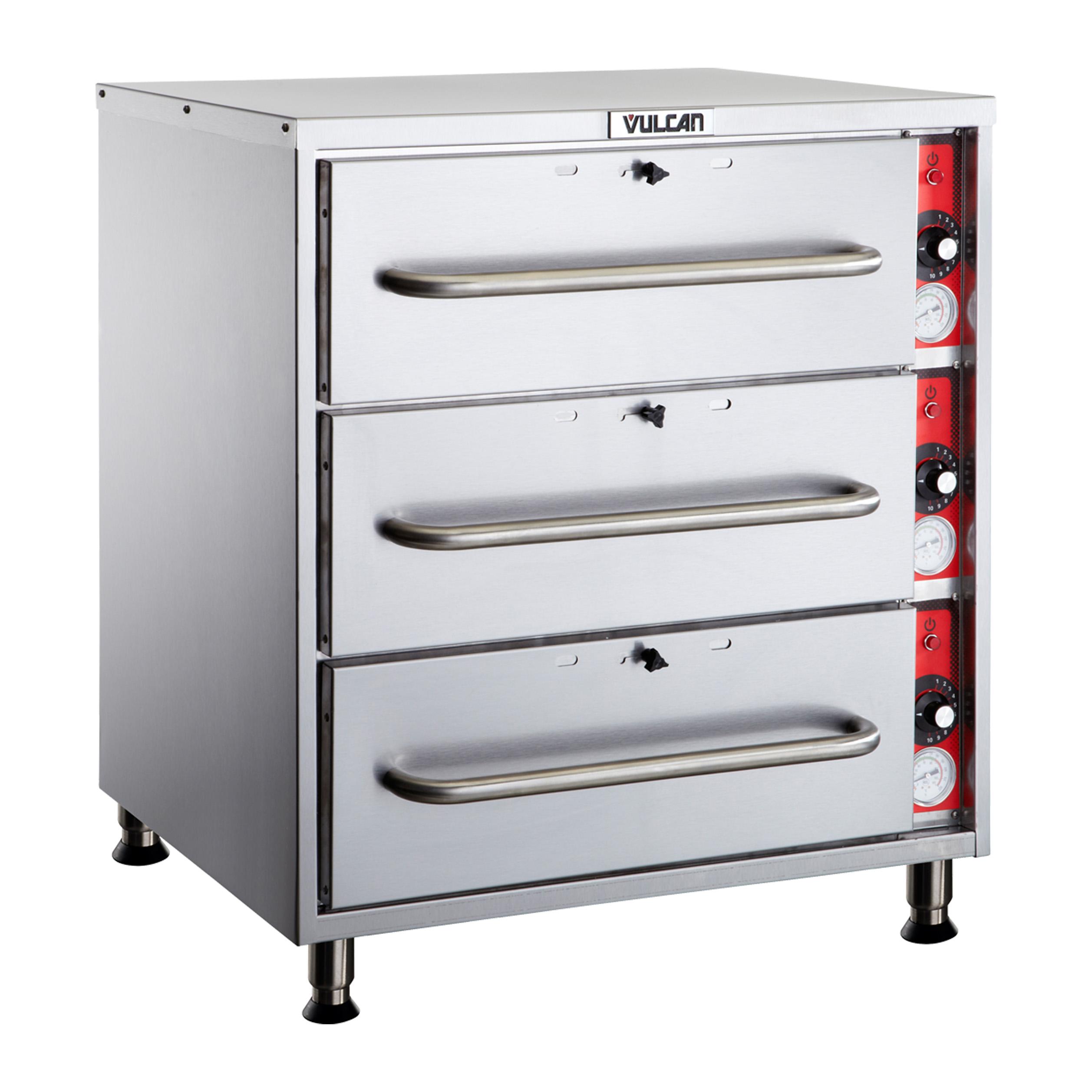 Vulcan VW3S warming drawer, free standing
