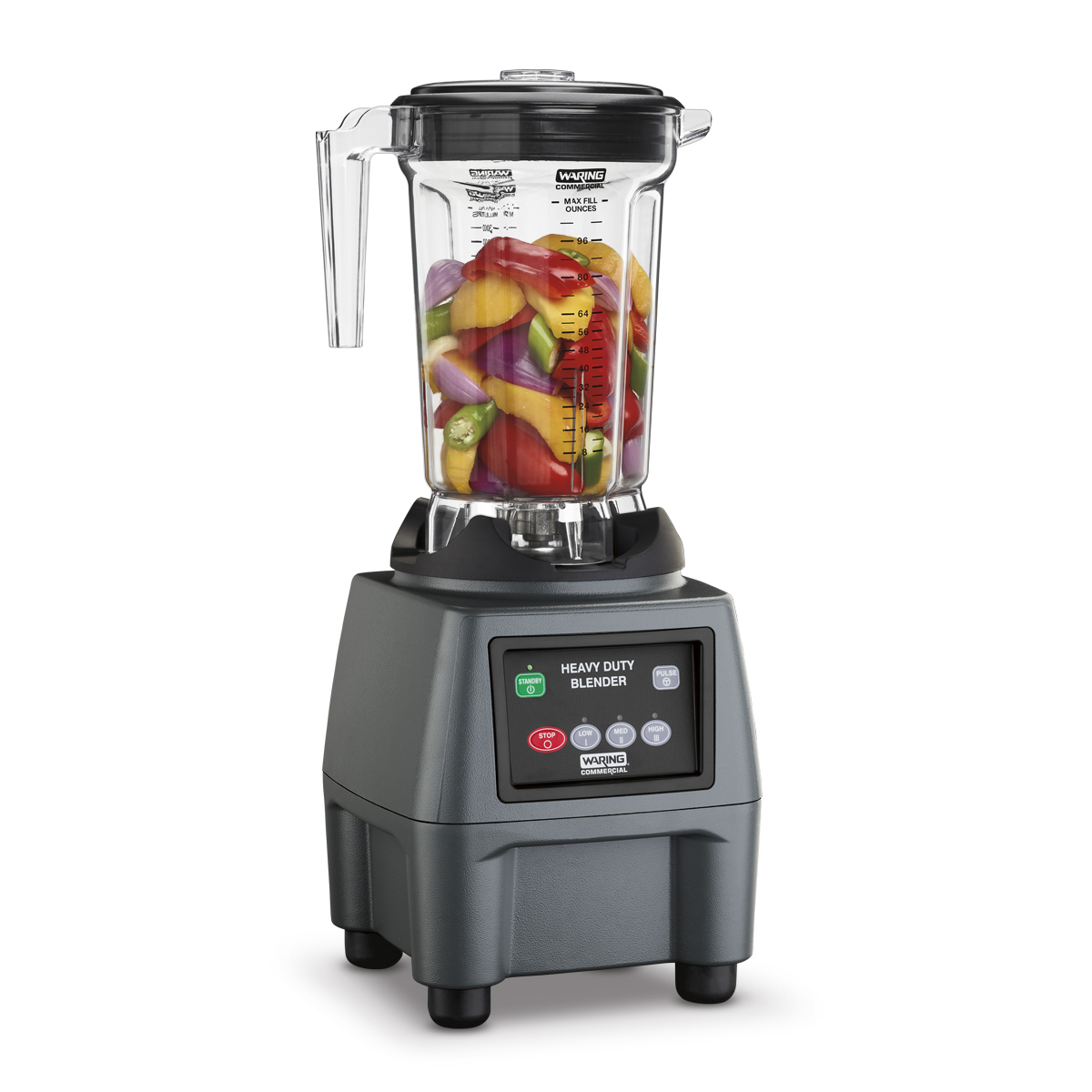 Waring CB15P blender, food, countertop