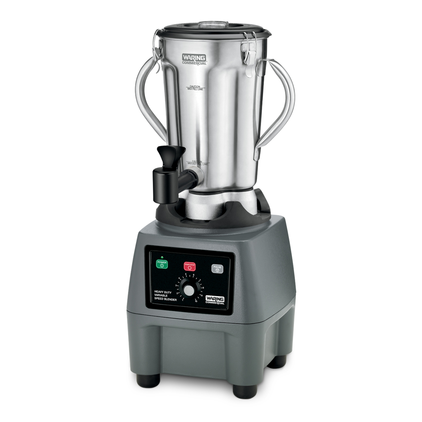 Waring CB15VSF blender, food, countertop