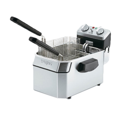 Waring WDF1550 fryer, electric, countertop, full pot