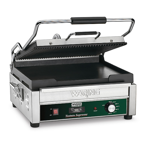 Waring WDG250T sandwich / panini grill