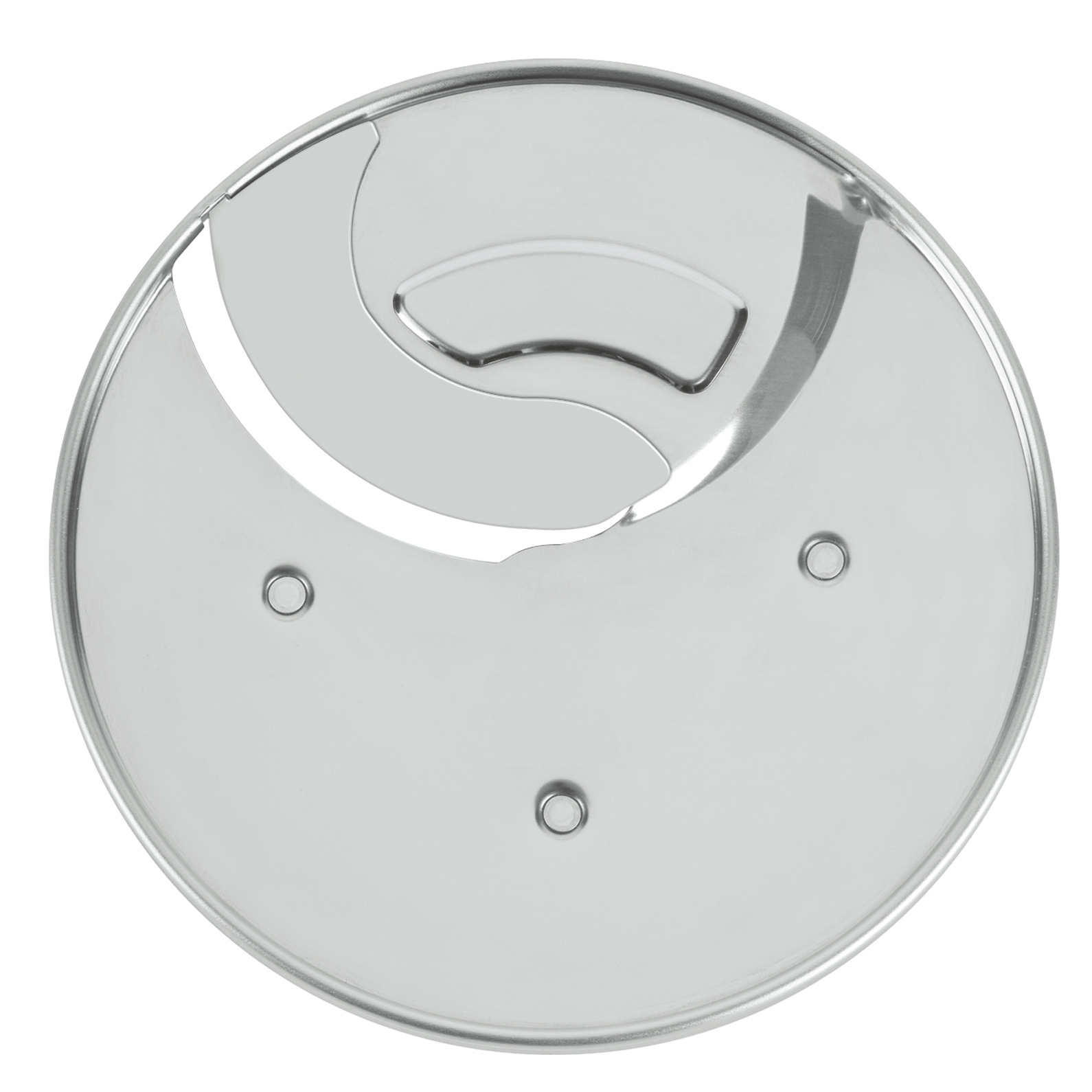 Waring WFP118 food processor, disc plate, slicing