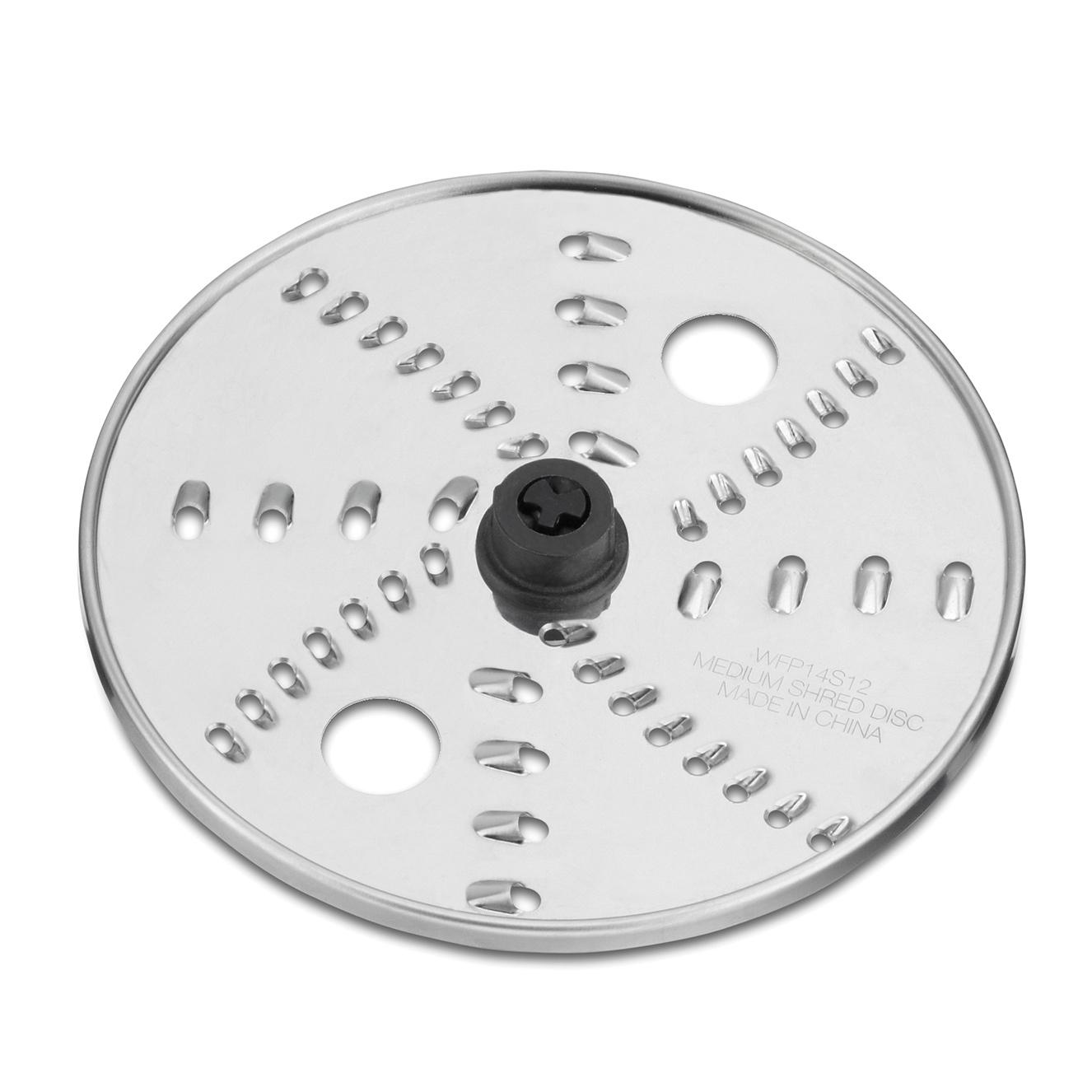 Waring WFP14S12 food processor, disc plate, shredding / grating