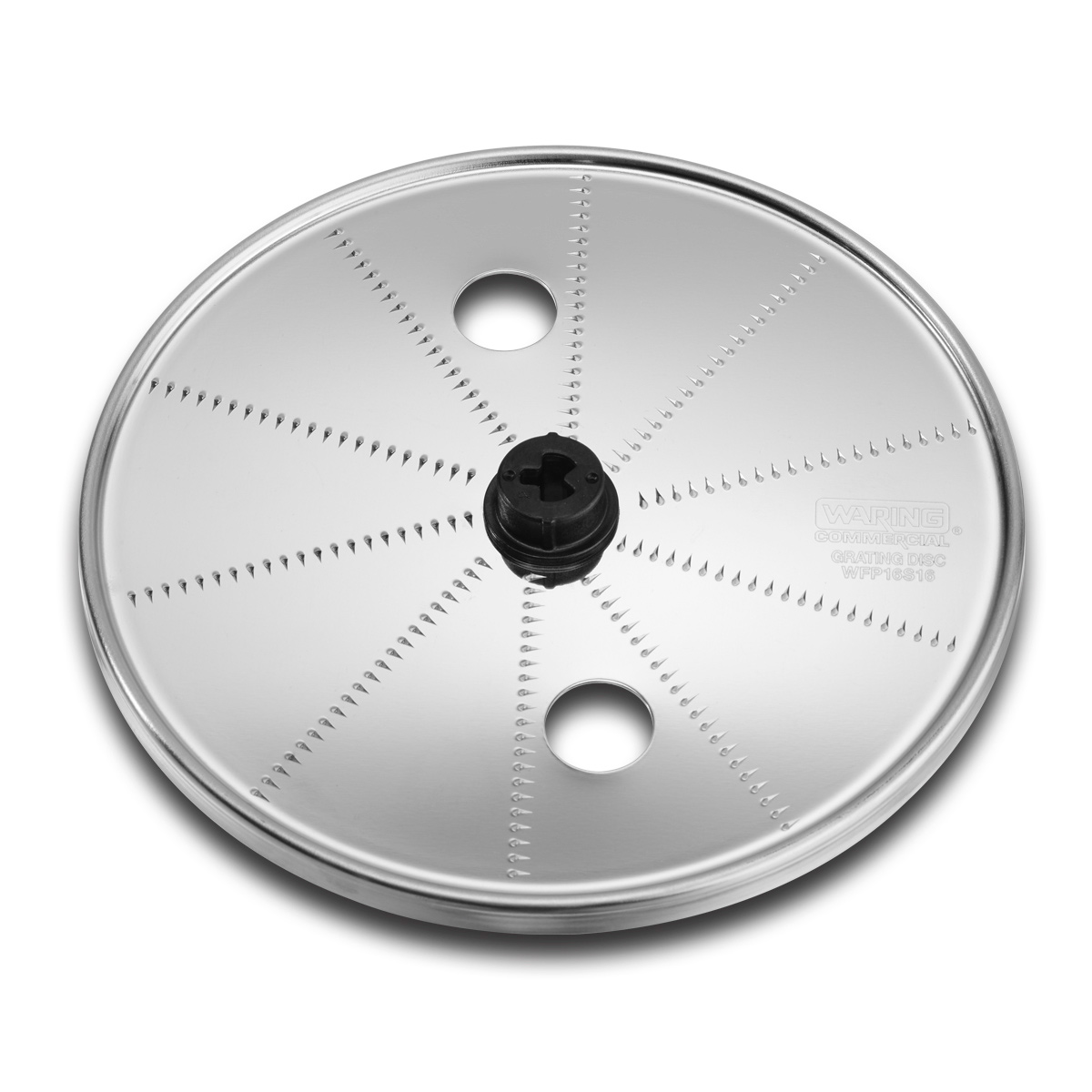 Waring WFP16S16 food processor, disc plate, shredding / grating