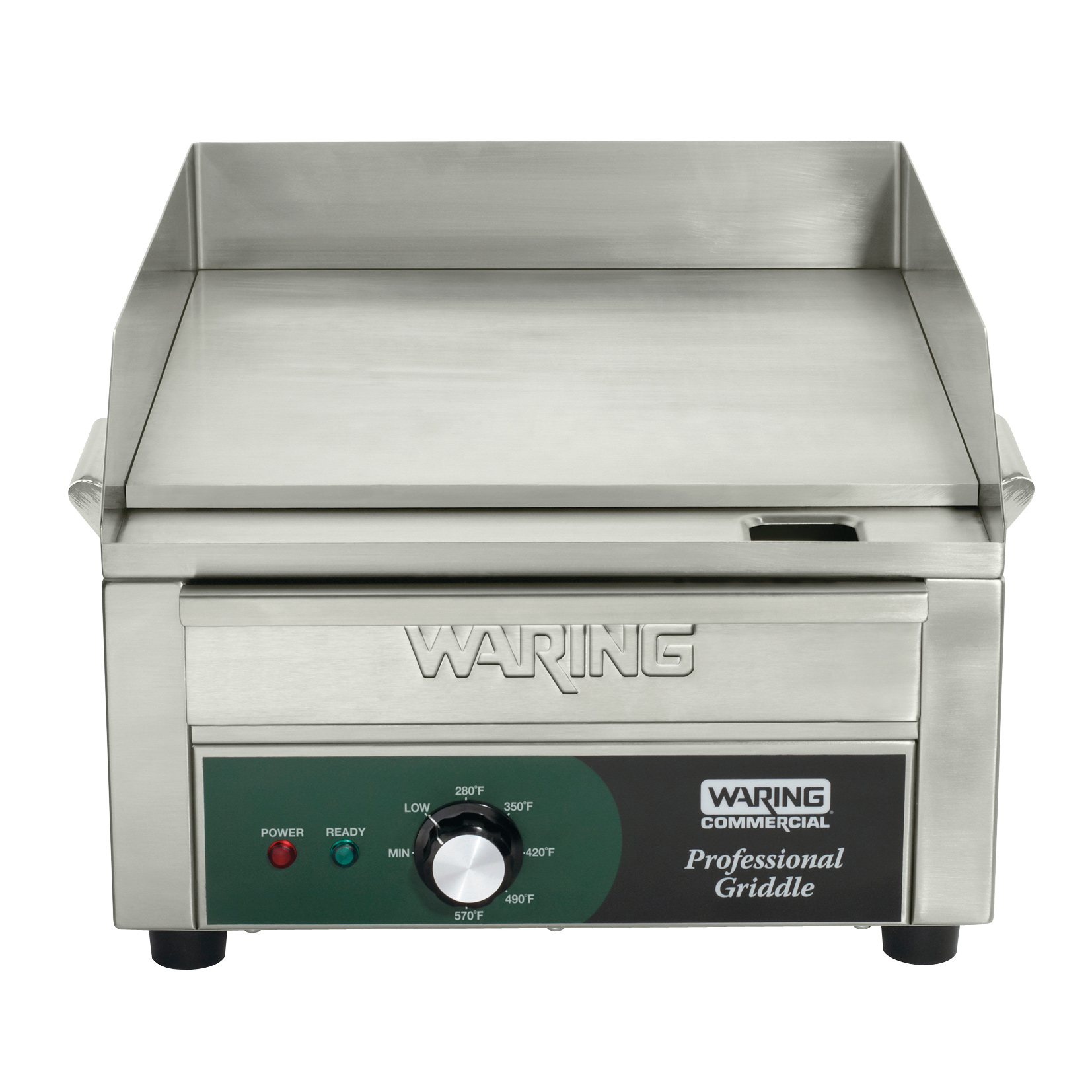 Waring WGR140X griddle, electric, countertop