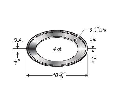 Wells 20822 adapter frame