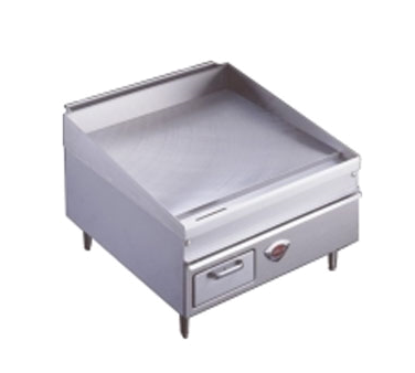 Wells WG-2436G griddle, gas, countertop