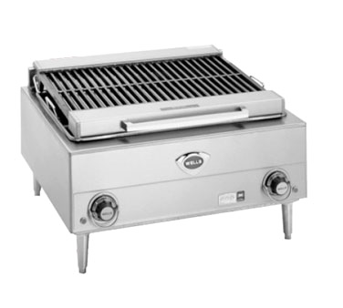 Wells B-40 charbroiler, electric, countertop