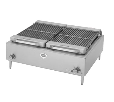 Wells B-50 charbroiler, electric, countertop