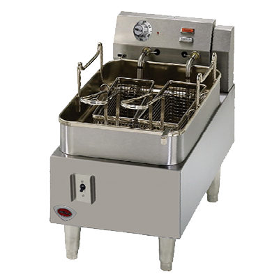 Wells F-15 fryer, electric, countertop, full pot