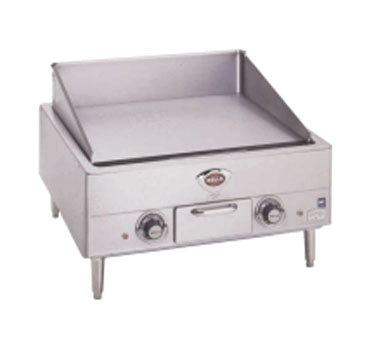 Wells G-13 griddle, electric, countertop
