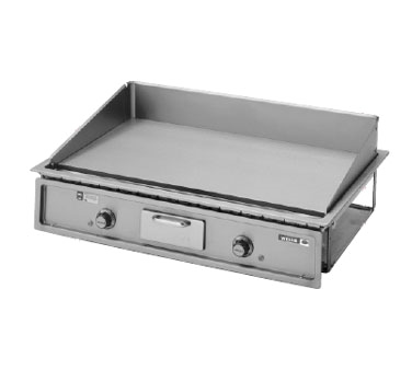 Wells G-196 griddle, electric, built-in