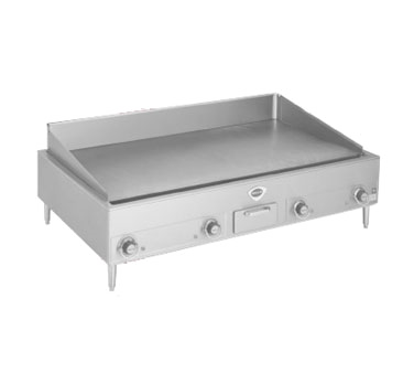 Wells G-24 griddle, electric, countertop