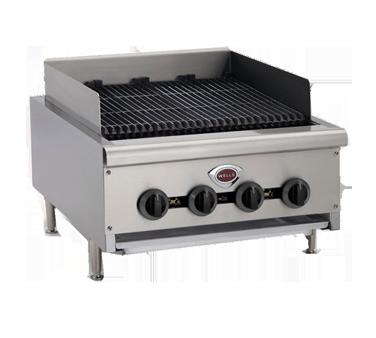 Wells HDCB-2430G charbroiler, gas, countertop