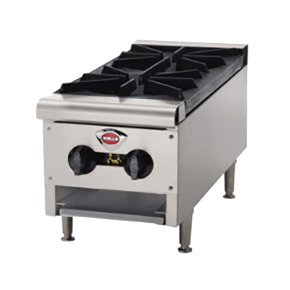 Wells HDHP-1230G hotplate, countertop, gas