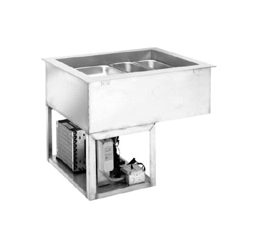 Wells HRCP-7100 hot / cold food well unit, drop-in, electric