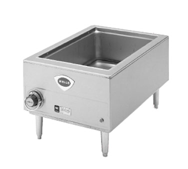 Wells HW/SMP food pan warmer/cooker, countertop