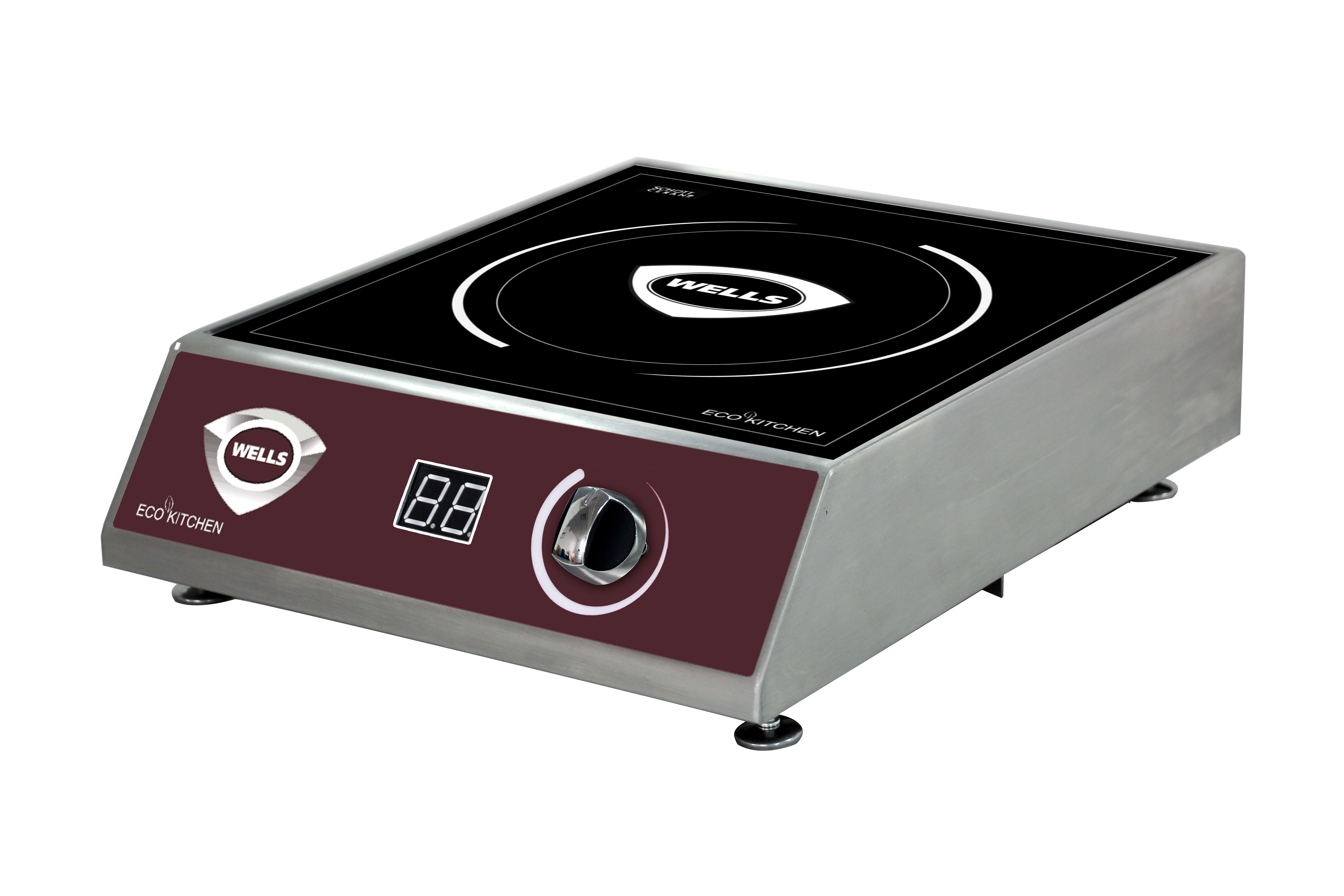 Wells ISC25 induction range, countertop