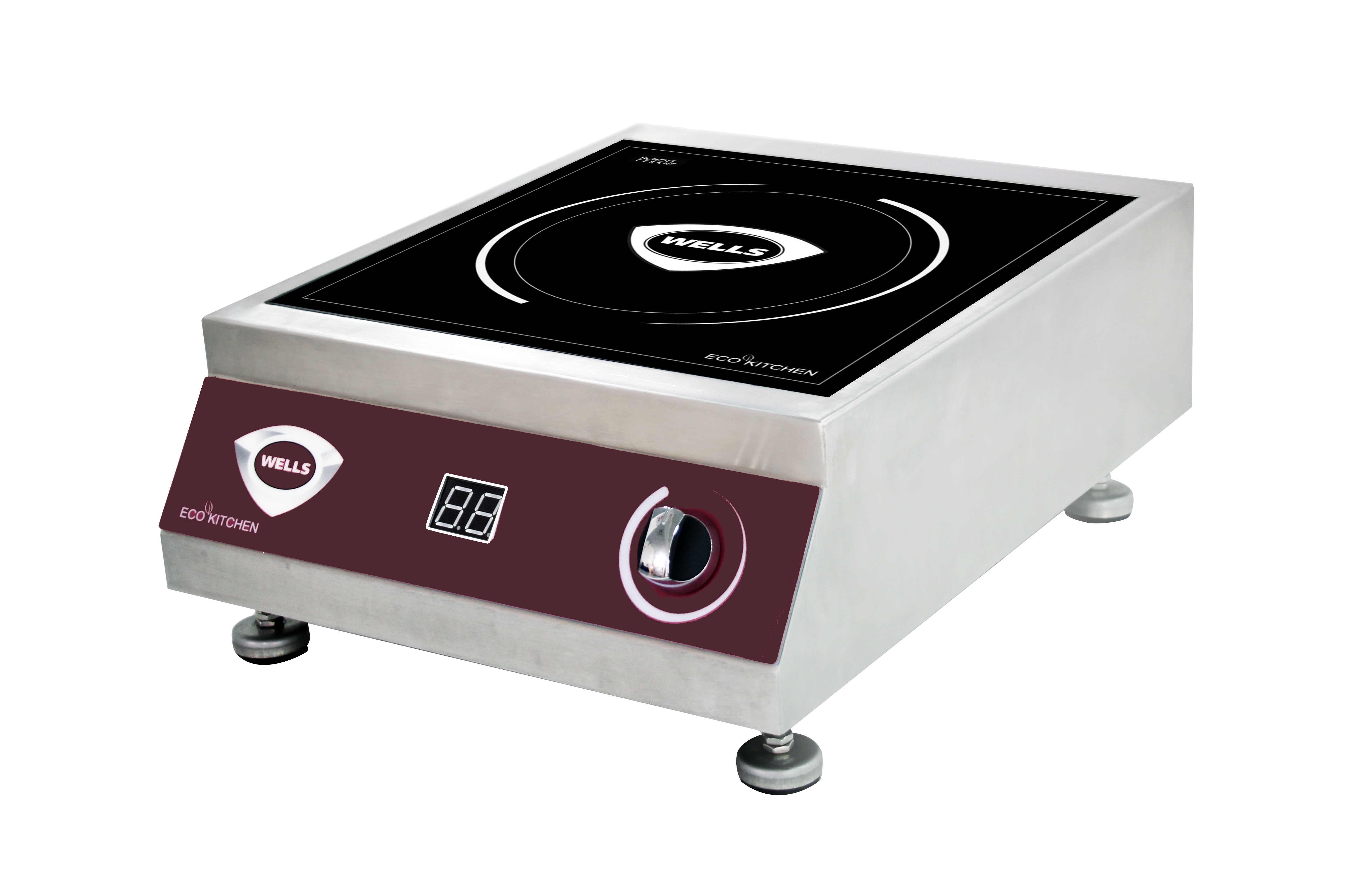 Wells ISC35 induction range, countertop