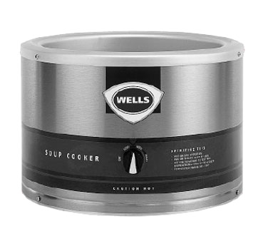Wells LLSC-11 food pan warmer/cooker, countertop