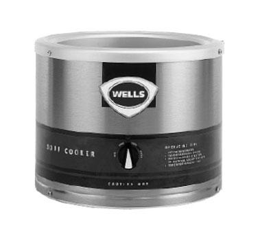 Wells LLSC-7WA food pan warmer/cooker, countertop