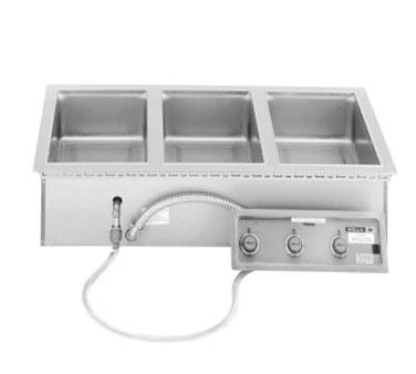 Wells MOD-327TDM hot food well unit, drop-in, electric