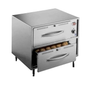 Wells RW-2HD warming drawer, free standing