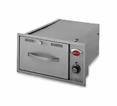 Wells RWN-16 warming drawer, built-in
