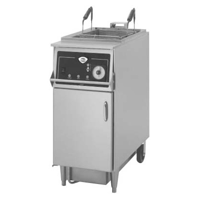 Wells WFAE-55F fryer, electric, floor model, full pot