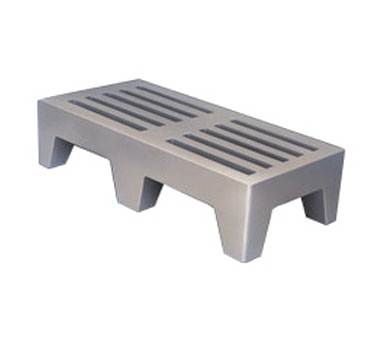 Winholt Equipment PLSQ-5-1222-GY dunnage rack, vented