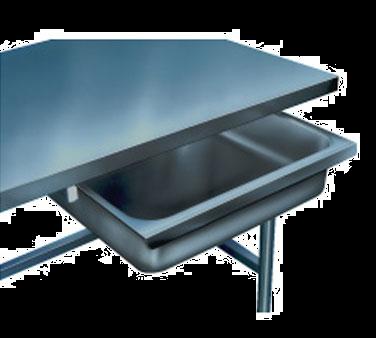 Winholt Equipment SD-1-36 work table, drawer